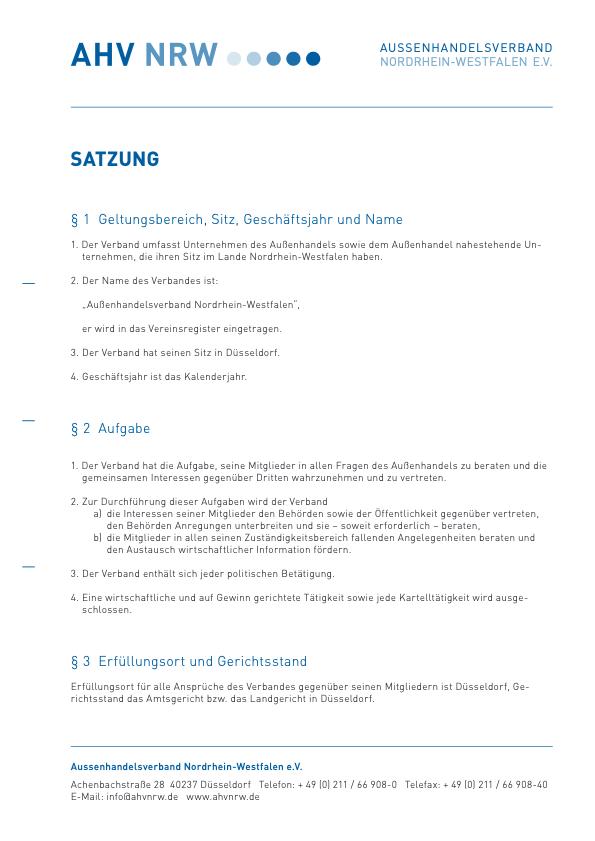 AHV-NRW_Satzung-2011-thumbnail