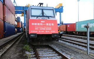 200908_Chinesische Sinotrans etabliert Zugverbindung zwischen Shenzhen und Duisburg